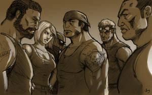 Ultimate Gears of War 3 by arsenalgearxx