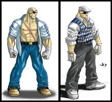 SSF4 Alternate Costume Sagat by arsenalgearxx