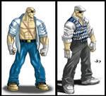 SSF4 Alternate Costume Sagat