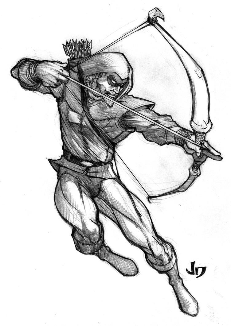 green arrow coloring pages 792x1224 sketches