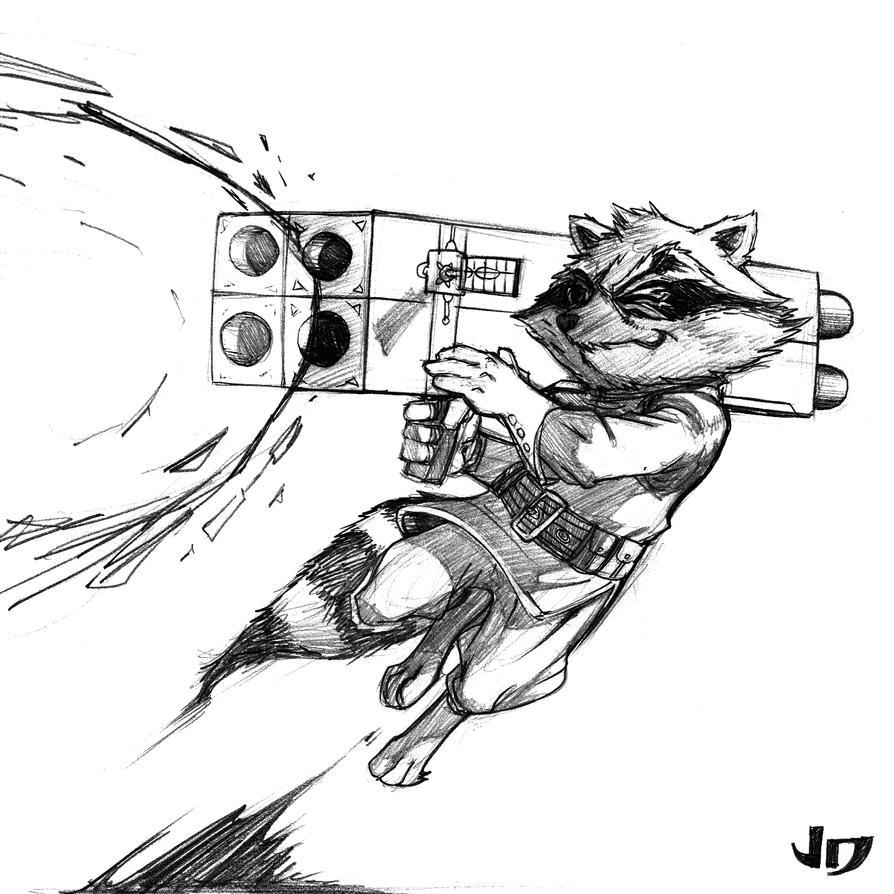 Star Lord And Rocket Raccoon By Timothygreenii On Deviantart: Rocket Raccoon By Arsenalgearxx On DeviantArt