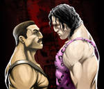 Haggar vs. Hugo by arsenalgearxx