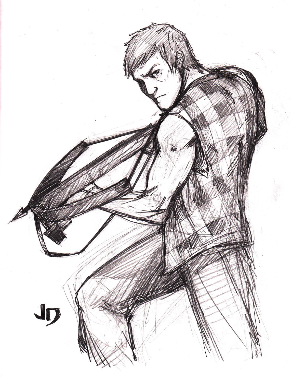 daryl dixon coloring pages - photo#15