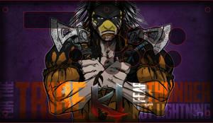 Razer Atrox KI Art Thunder by arsenalgearxx