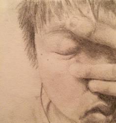 Portrait - my improvement after 4 years by ElizaSun123