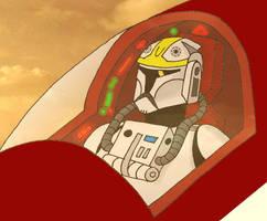 Clone pilot by Gardek