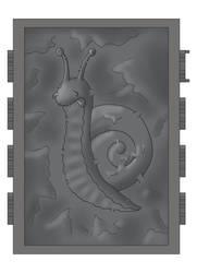 Snail in carbonite by Gardek