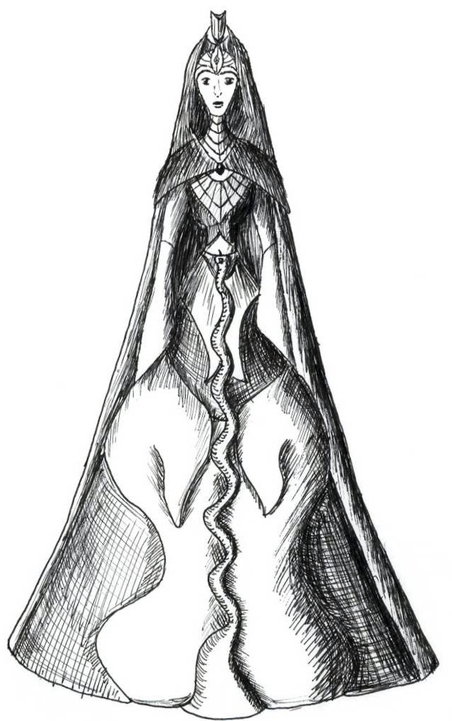 Empress Ainawen by Gardek