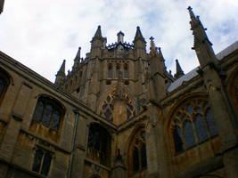 Ely Cathedral corner by Gardek