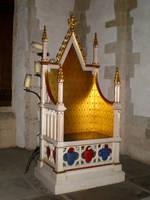 Golden throne by Gardek