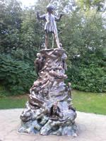 Peter Pan monument by Gardek