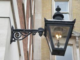 Old gas streetlamp by Gardek