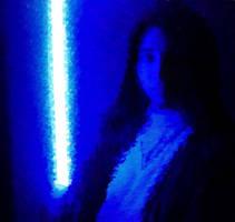 Fighting darkness by Gardek