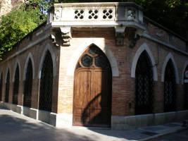 Gothic entrance by Gardek