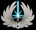 Realistic Jedi order logo