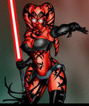 Darth Talon's lightsaber edit