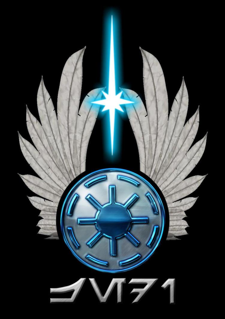 Realistic Jedi logo by Gardek