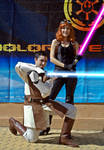 Mara Jade and Gardek at JEHES 8-2