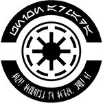 HoloRed Estelar - Union Armada logo B-W version