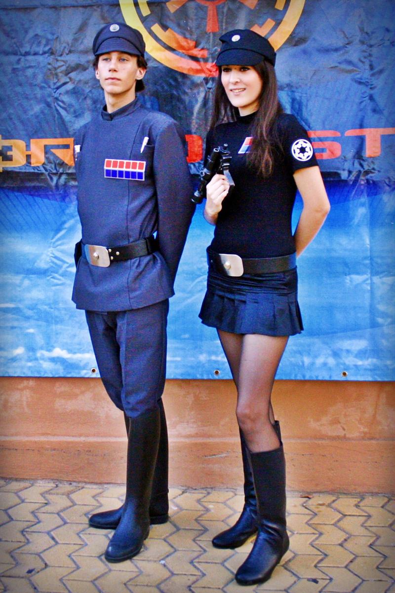 Imperial officers by Gardek
