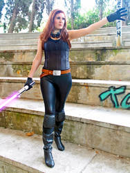 Mara Jade cosplay - Kotobukiya by Gardek
