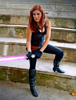 Mara Jade cosplay - Defender by Gardek