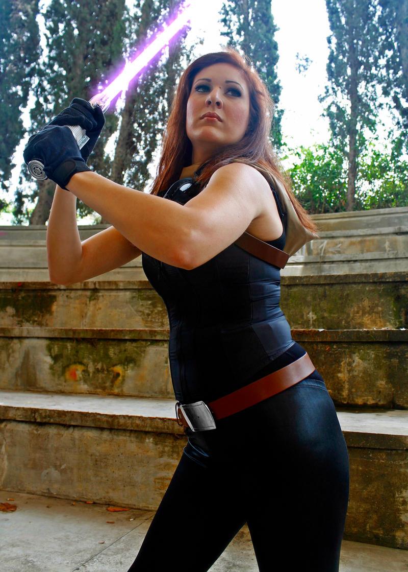 Mara Jade cosplay - Onslaught by Gardek
