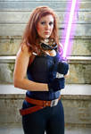 Mara Jade cosplay - Half body