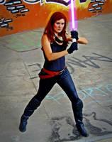 Mara Jade cosplay - Fighter by Gardek