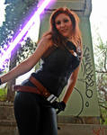 Mara Jade cosplay - Pin Up