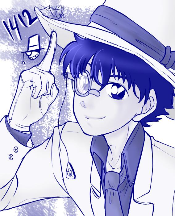 Magic Kaito Kaitou Kid 1412 By 1010amy Kia On Deviantart