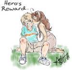 Kid!Talia: Romerica: Hero's Reward.