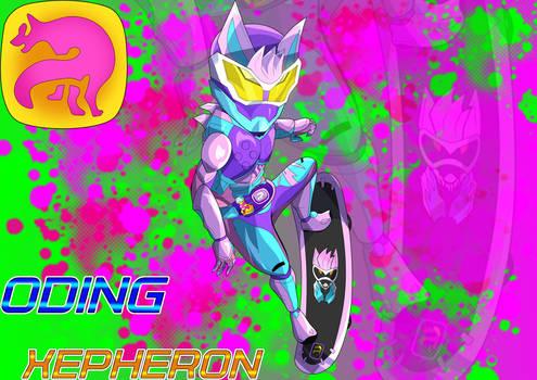 Kamen Rider Revice Jackal Genome