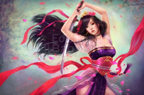 Japanese girl, de Marta Nael