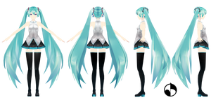 MMD WIP | Clothes | Miku Hatsune YoiStyle