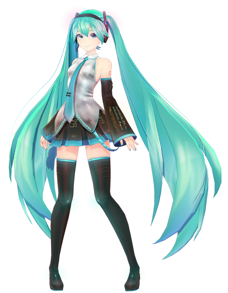 3d mmd voluptuous hatsune miku pure hearted skirt 10