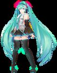 MMD| Miku Hatsune V2 YoiStyle | DL