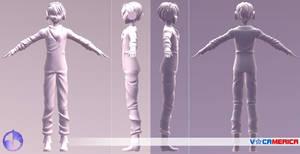 VOCAMERICA | VOCALOID DEX 3D model | Concept