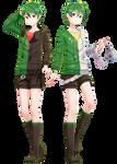 MMD Commission   Genshine Kyuu and Roku YoiStyle