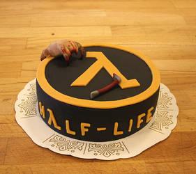 Half Life cake