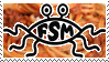 Flying Spaghetti Monster Stamp