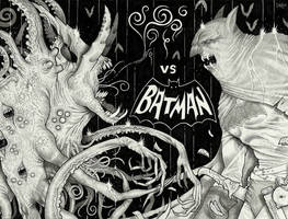 The Nameless Horror vs Batman