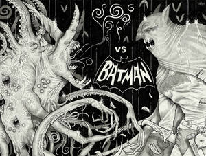 The Nameless Horror vs Batman