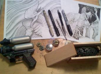 Work work work by Sch1itzie
