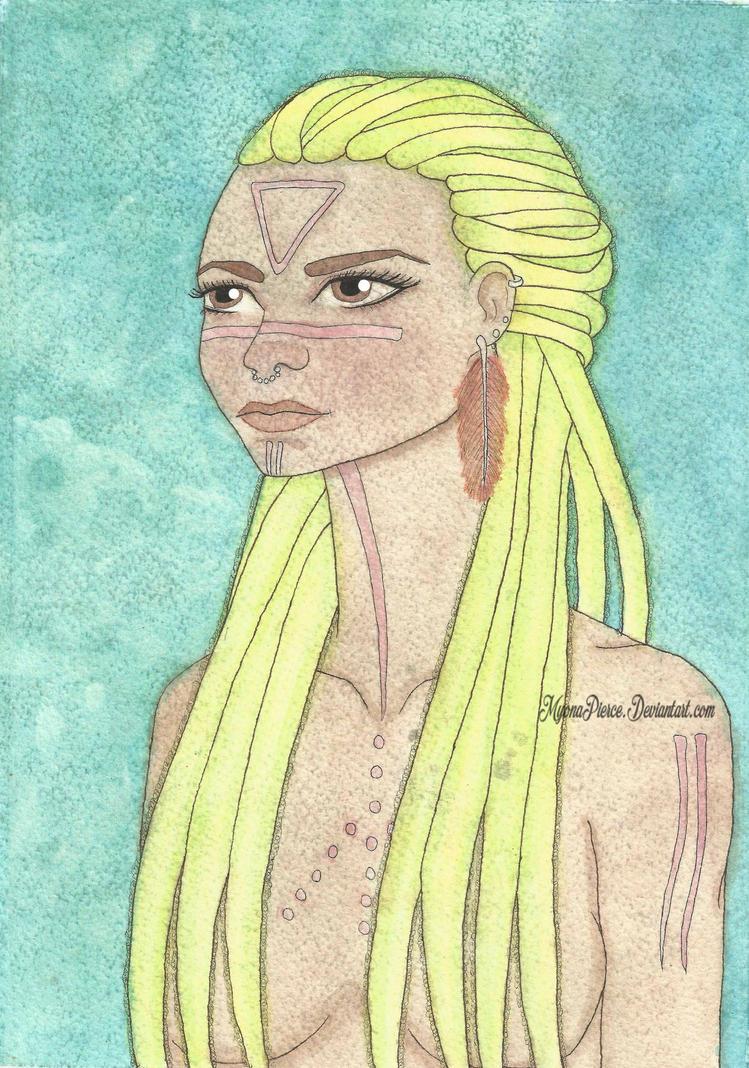 Tribal Queen by MyonaPierce