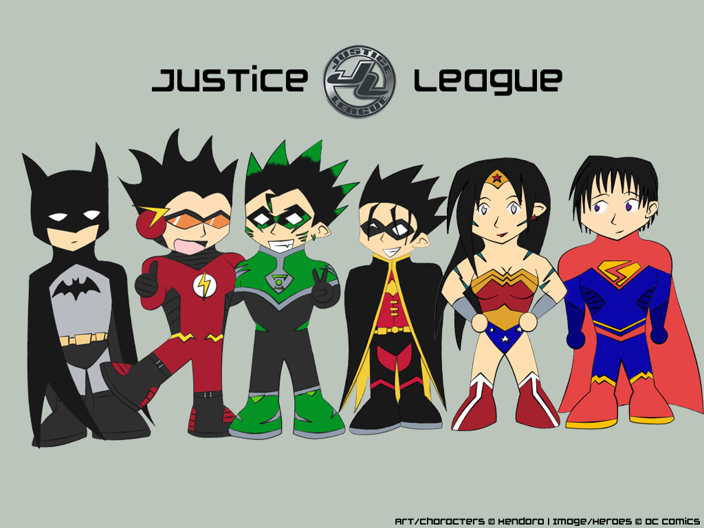 Nitei: Justice League by Kendoro