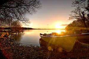 Lough Erne Sunset 3 by mole2k