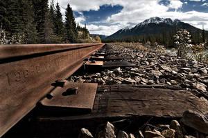 Canadian Railway by mole2k