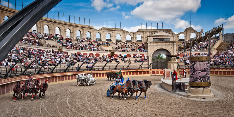 Chariot Racing, Puy du Fou by mole2k on DeviantArt