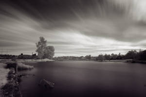 Infra-Red: Enniskillen by mole2k